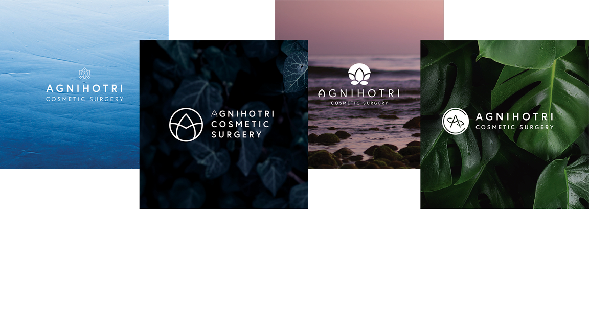 examples of Agnihotri Cosmetic Surgery logo options