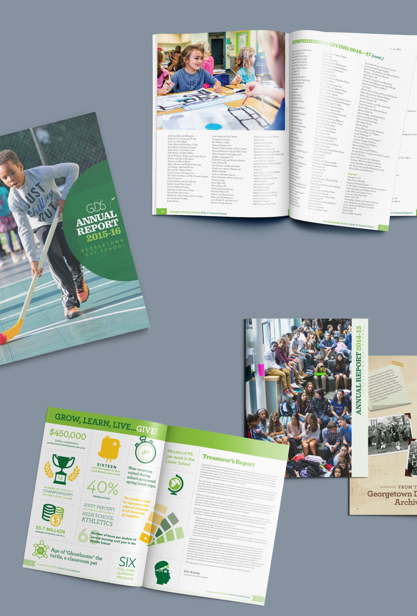 Georgetown Day School annual reports