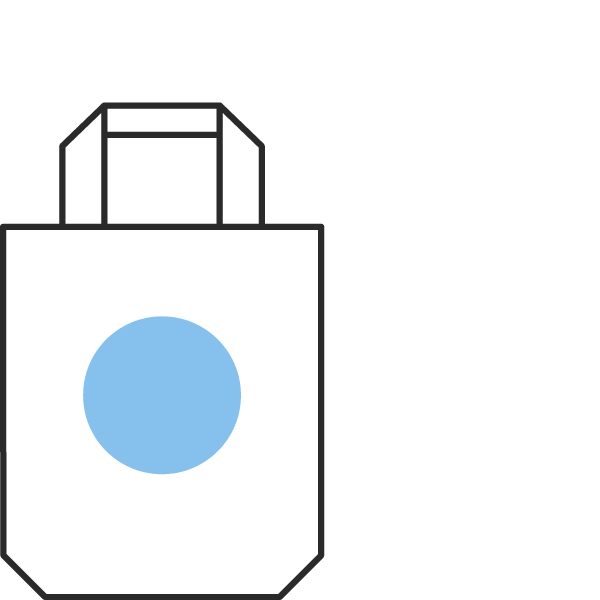 icon of a tote bag