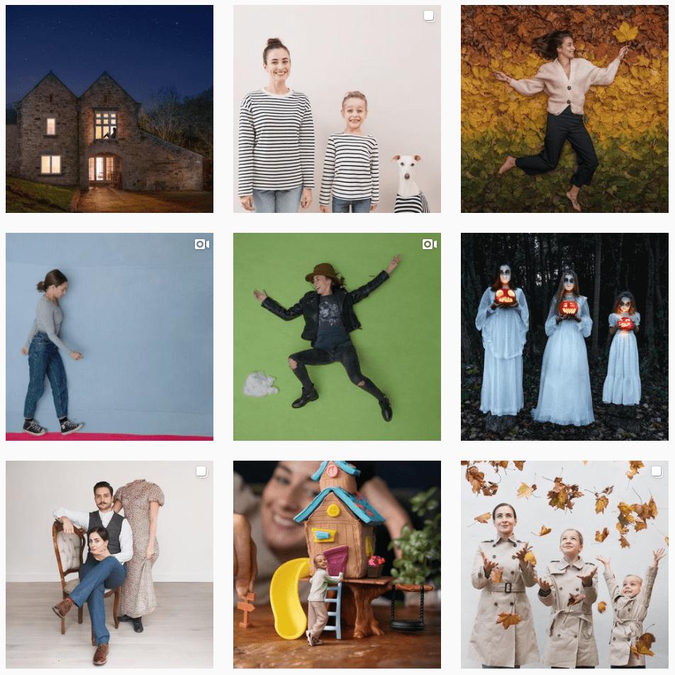 Dom & Dom Instagram Grid